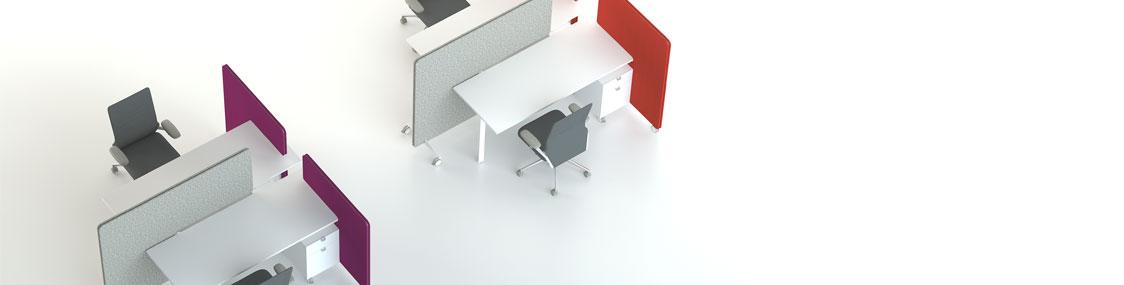 Nomad benching - mobilier de bureau