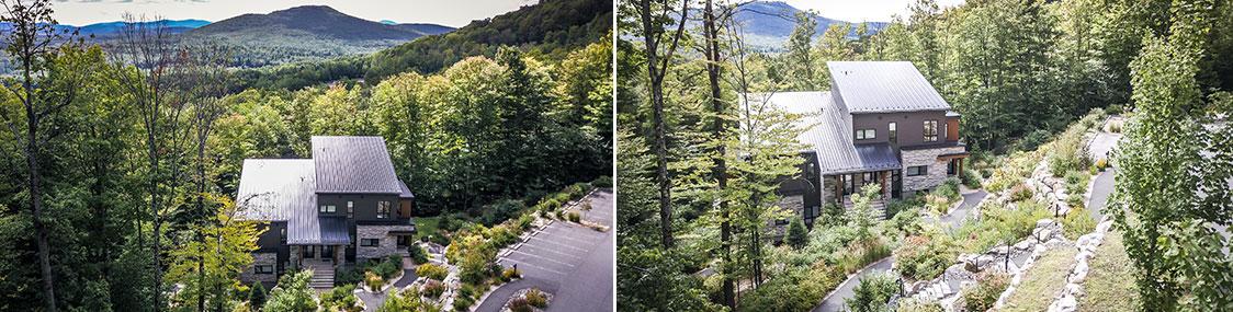 Côte Est - Habitations en montagne